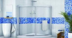 Shower Solution Small Bathrooms Corner Doors Glass