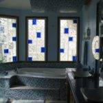 Shower Wall Window Bar Design Glass Block Patterns Sizes Designs