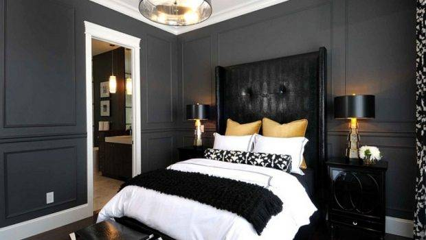 Silver Bedroom Designs Black White Gray Ideas