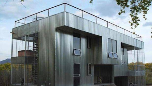 Simple Amazing All Metal House Inspiration