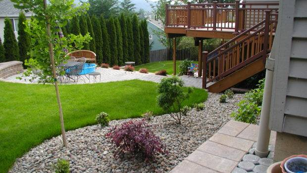 Simple Backyard Ideas Landscaping Room Decorating Home