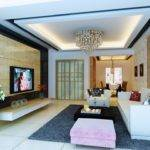 Simple Ceiling Design Small Living Room