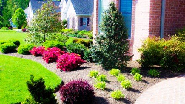 Simple Easy Front Landscaping Ideas Homefurniture