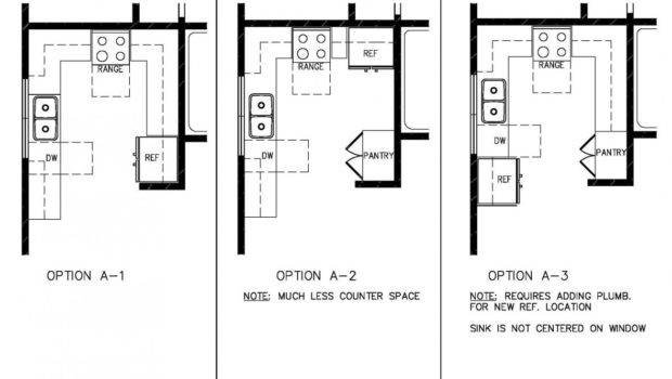 Simple Efficient Small Kitchen Design Layout