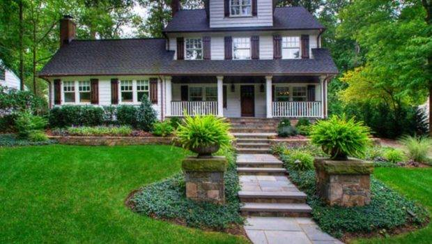 Simple Landscaping Ideas Front House Home