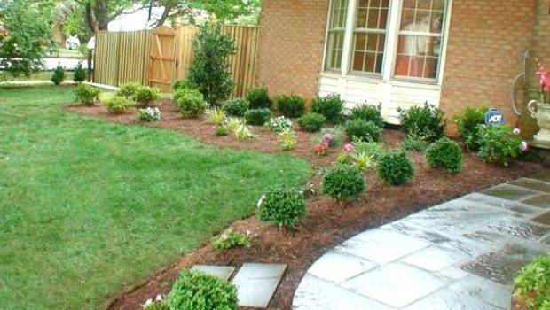 Simple Landscaping Ideas Front Yard Onlinemarketing Club