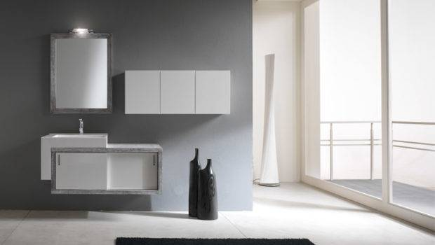 Simple Modern Bathroom Cabinets Piquadro Bmt Digsdigs