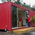 Simple Shipping Container Home Modern Modular