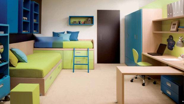 Simple Small Bedroom Design Boys Home Combo