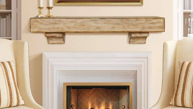 Simple Sophisticated Fireplace Mantel Ideas