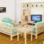 Simple Wooden Sofa Design Drawing Room Sofakoe