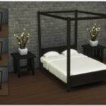 Sims Blog Modern Four Poster Double Bed Ignorantbliss