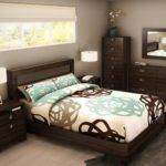 Single Bed Black Furniture Ideas Small Bedrooms