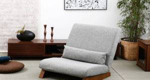 Single Seat Sofa Bed Modern Fabric Japanese Living Room Furniture