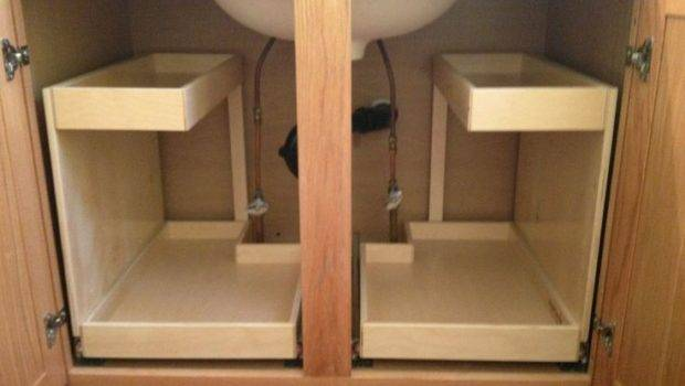Sink Storage Pullout These Shelfgenie Shelves Two Level