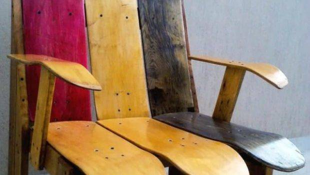 Skateboard Chair Pallets