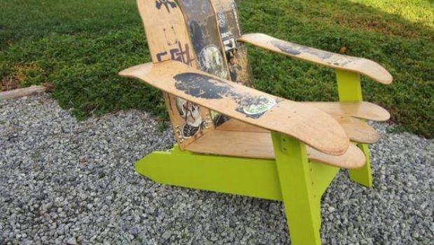 Skateboard Deck Chair
