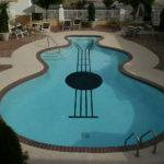 Slightly Simpler Design Guitar Shaped Pool Piano Pools