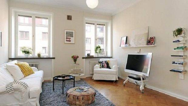 Small Apartment Rooms Decorate Rental Very