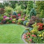 Small Area Attractive Yard Ideas Flowers Cute Landscaping