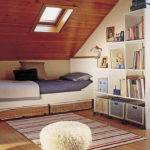 Small Attic Bedroom Design Dormer Ideas