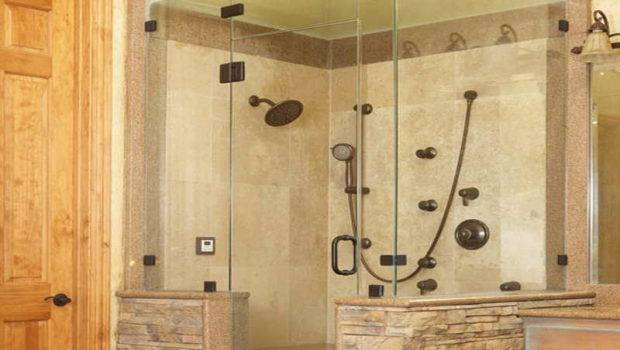 Small Bathroom Glass Shower Big Design Ideas Bathrooms