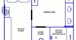Small Bathroom Plan Cottage Cute