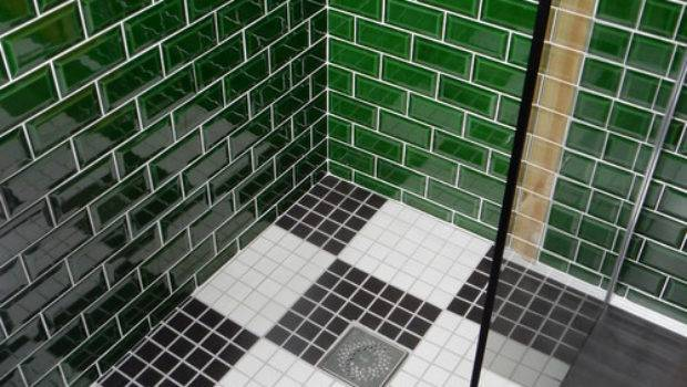 Small Bathroom Project Unique Tile Design