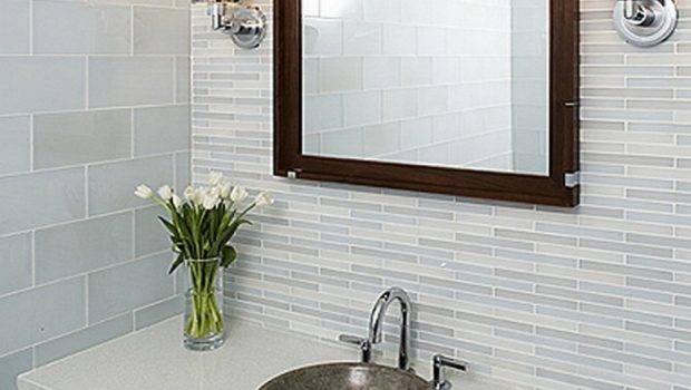 Small Bathroom Sink Tile Sacks Designs