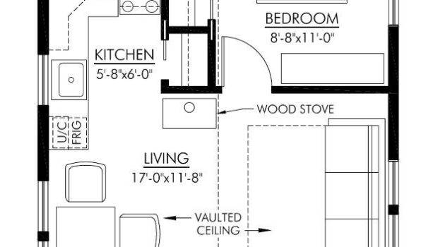 Small Cottage Floor Plan Interior Design