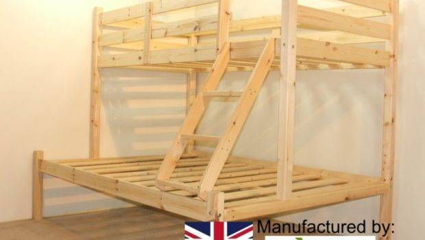 Small Double Triple Sleeper Bunk Bed Strictly Beds Bunks