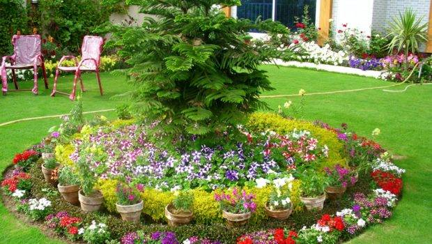 Small Front Garden Ideas Floral Arrangements