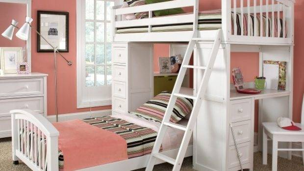 Small Girls Bunk Beds Decorating Ideas Room