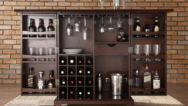 Small Home Bar Cabinet Ideas Cabinets