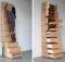 Small Home Ideas Contemporary Staircase Bookshelves Storage Solution