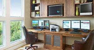Small Home Office Room Design Furniture Spaces
