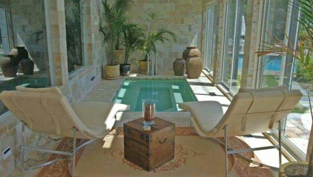 Small Indoor Pool Spa Area Home Decor Inside Out Pinterest