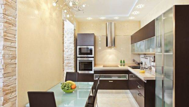 Small Kitchen Design Essential Cooking Appliances Close