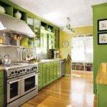 Small Kitchen Designs Yellow Green Colors