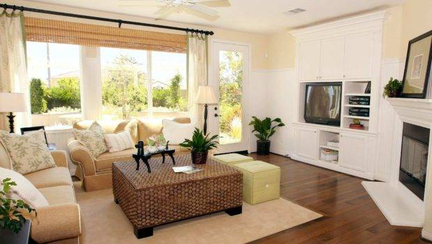 Small Living Room Elegant Furniture House Style Space