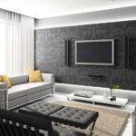 Small Living Room Gray Black Deniz Homedeniz Home