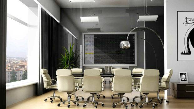 Small Modern Office Meeting Room