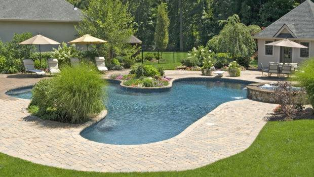 Small Pool Area Landscaping Decosee