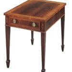 Small Rectangular End Table Classic One Drawer Accent