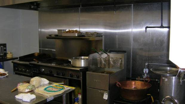 Small Restaurant Kitchen Design Sample