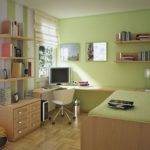 Small Rooms Green Wall Colors Boys Bedroom Learning