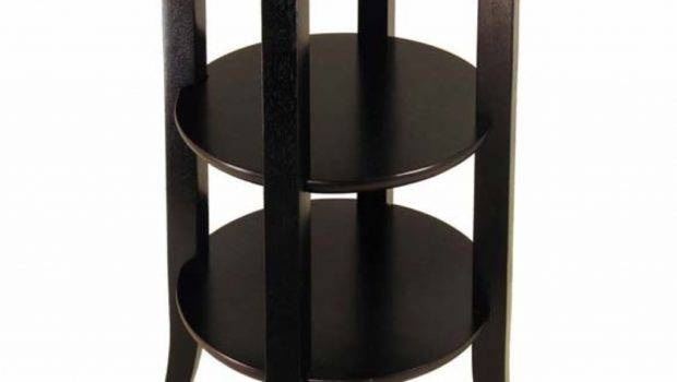 Small Round Accent Table Shelby Knox