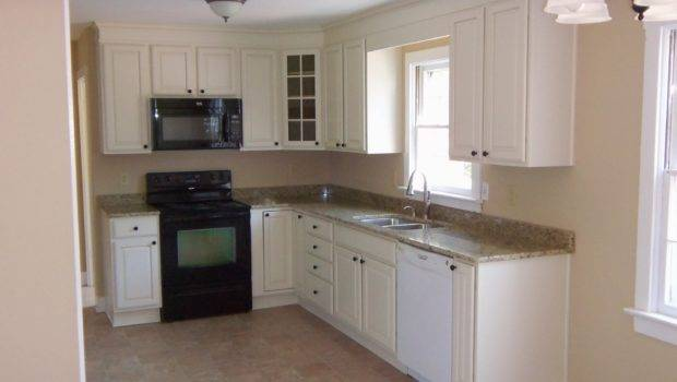 Small Shaped Kitchen Cabinet Design