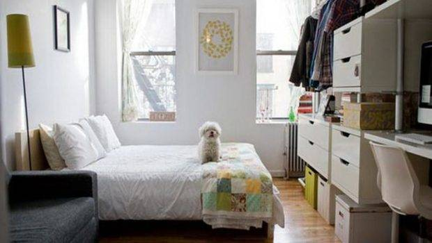 Small Space Bedroom Organization Ideas