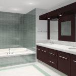 Small Space Modern Bathroom Tile Design Ideas Cool